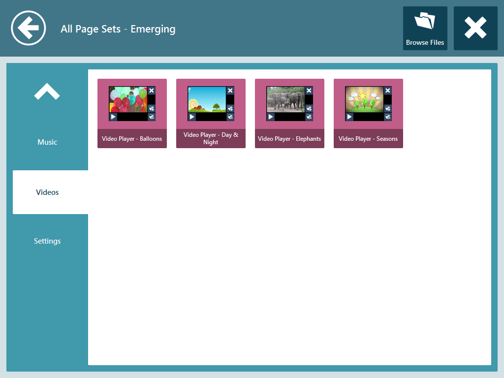 All Page Sets - Emerging Communicator 7